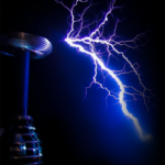 The world's largest singing Tesla coil pair
