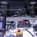 Livestream setup at ArcAttack warehouse.