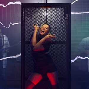 Carla performs in Faraday cage