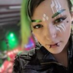 Carla-X: Faraday suit performer