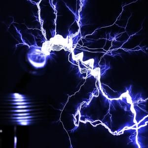 Closeup Lightning Poster!