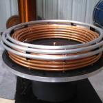 Toroid primary coil build