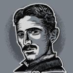 A picture of Nikola Tesla
