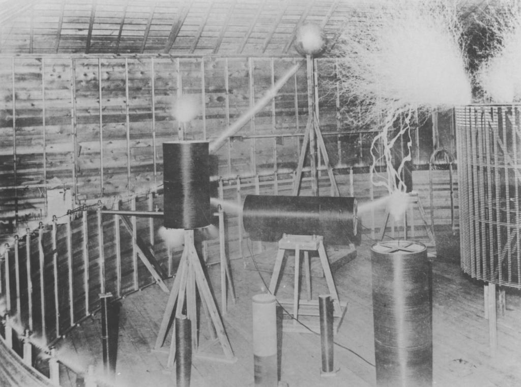 Tesla's Lab at Colorado Springs.