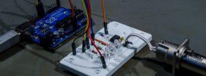 Arduino DMX breadboard example